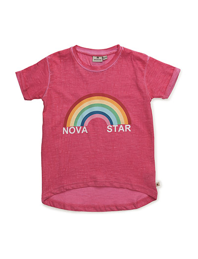NOVA STAR Pink Rainbow Tee