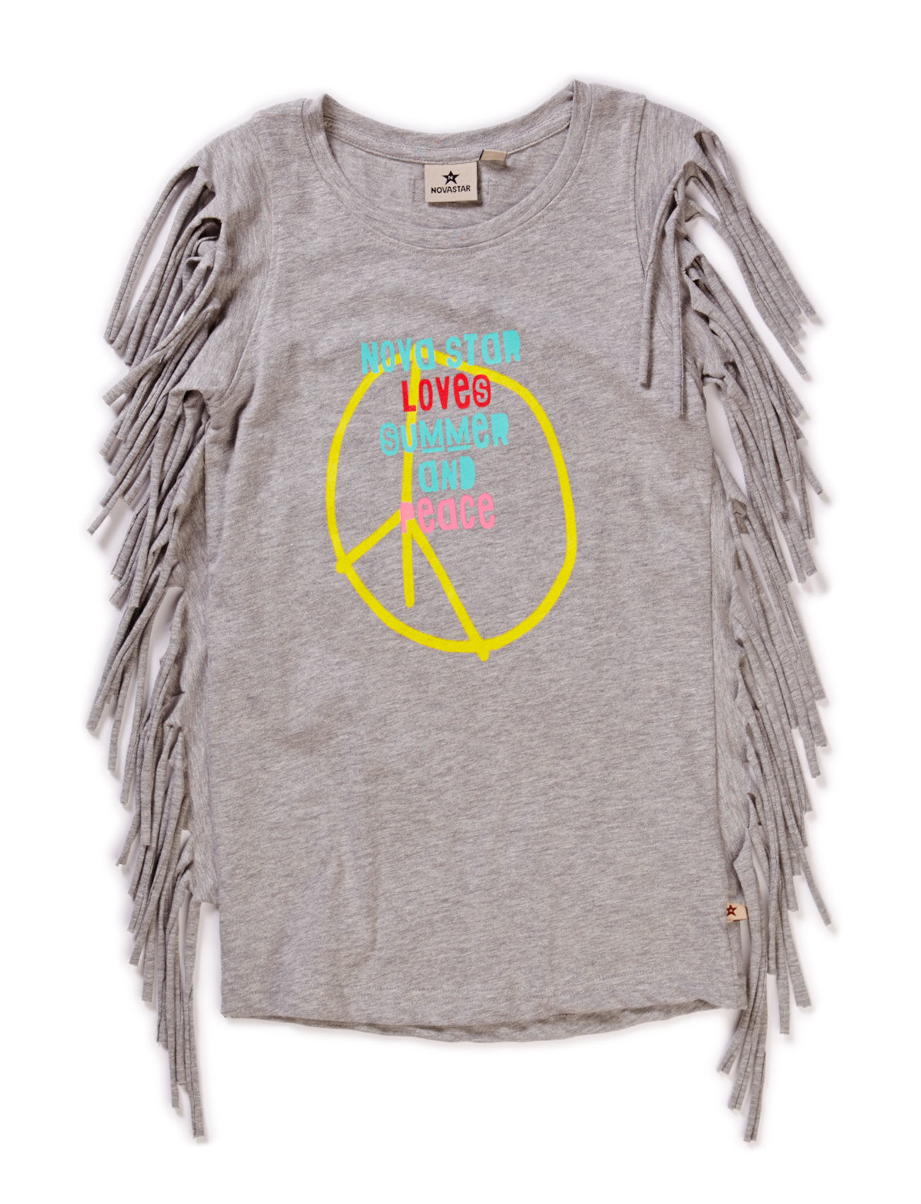 Peace Fringe Top