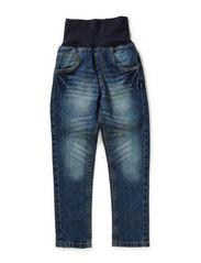 Straight Fit Denim - BLUE