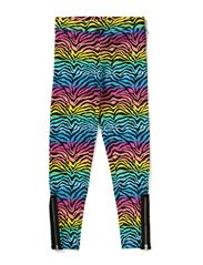 Happy Zebra Leggings - MULTI COLOUR