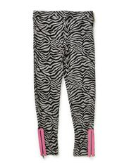 Urban Zebra Leggings - GREY