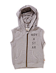 Hood Sleeveless - Grey