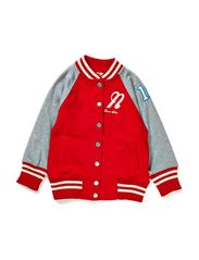 Baseball Sweater Red - RED