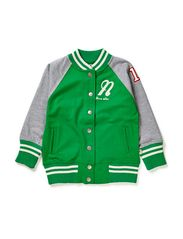 Baseball Sweater Green - GREEN