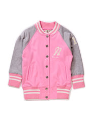 Baseball Sweater Pink - PINK/GREY