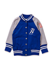 Baseball Sweater Blue - BLUE/GREY