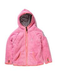Hood Fleece Pink - PINK