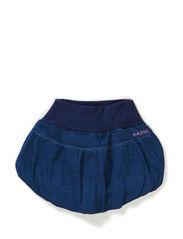 Balloon Skirt Denim - BLUE