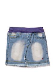 Denim Noomi skirt - BLUE