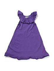 Flounce Dress Dahlia - PURPLE