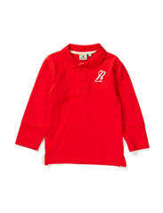 Polo Sweater Red - RED