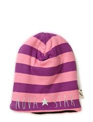 W-Beanie Striped Dream - PINK