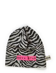 Beanie Zebra - GREY