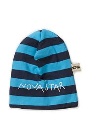 Beanie Striped Night - BLUE