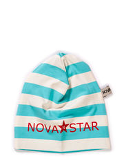 Striped Beanie Mint - MINT BLUE/WHITE