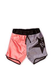 Bali Shorts - CORAL/GREY