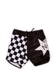 Waikiki Shorts - BLACK/WHITE