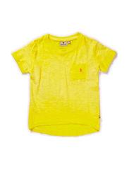 Sunny Yellow Tee - YELLOW