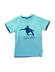 Skate Blue Tee - BLUE