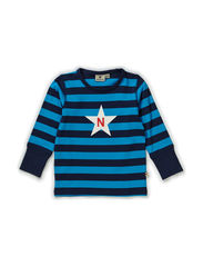 Striped T Blue - BLUE