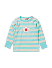 Striped T Mint - MINT BLUE/WHITE