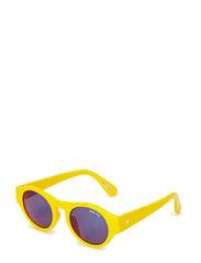 Yellow Round Sunglasses UV 400 - YELLOW