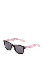 Checkers Sunglasses UV 400 - BLACK/PINK