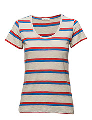 Venice T-shirt - POPPY RED