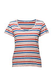Venice T-shirt - CORAL BLUSH