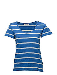 Venice T-shirt - STRONG BLUE