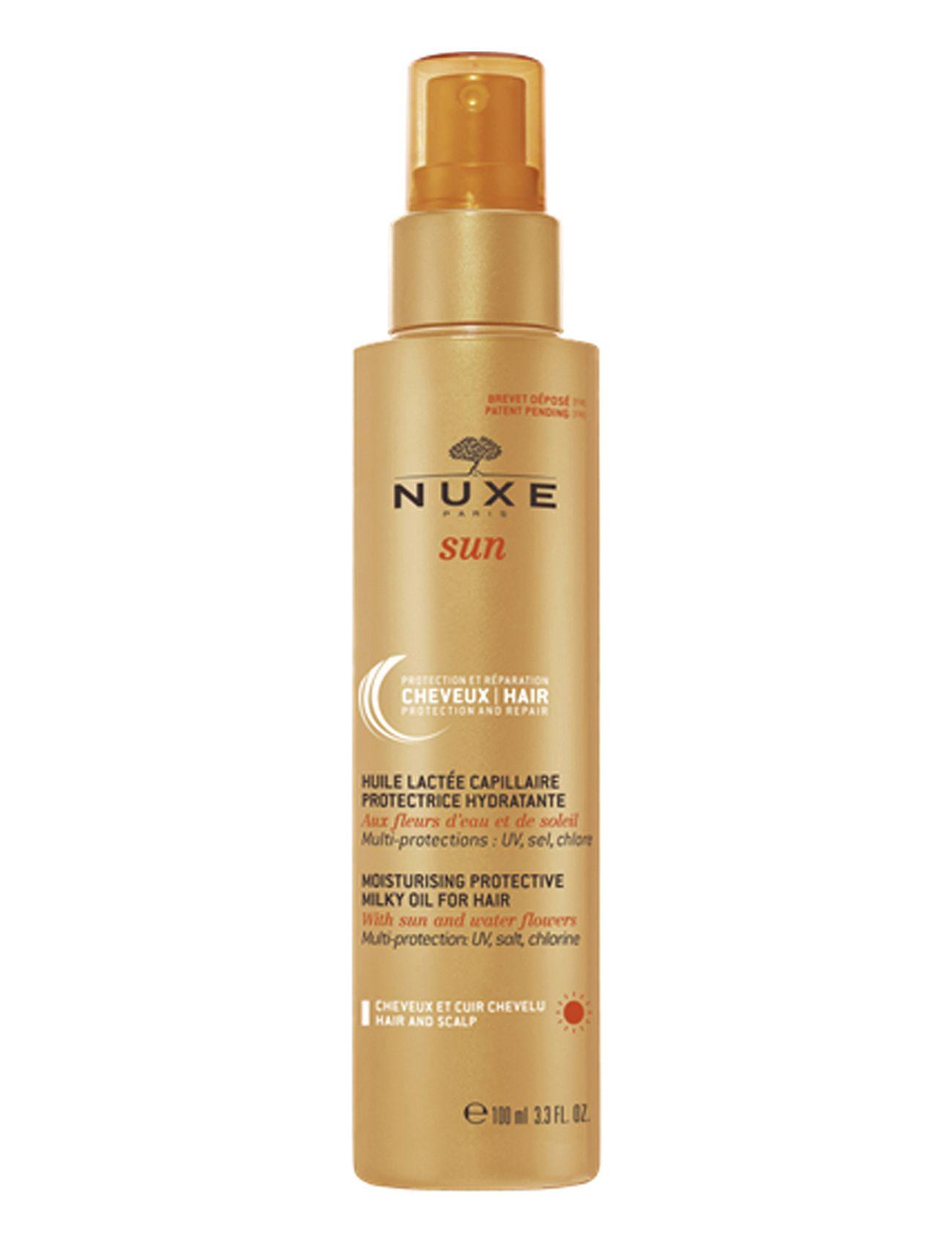 nuxe Nuxe sun milky oil for hair på boozt.com dk