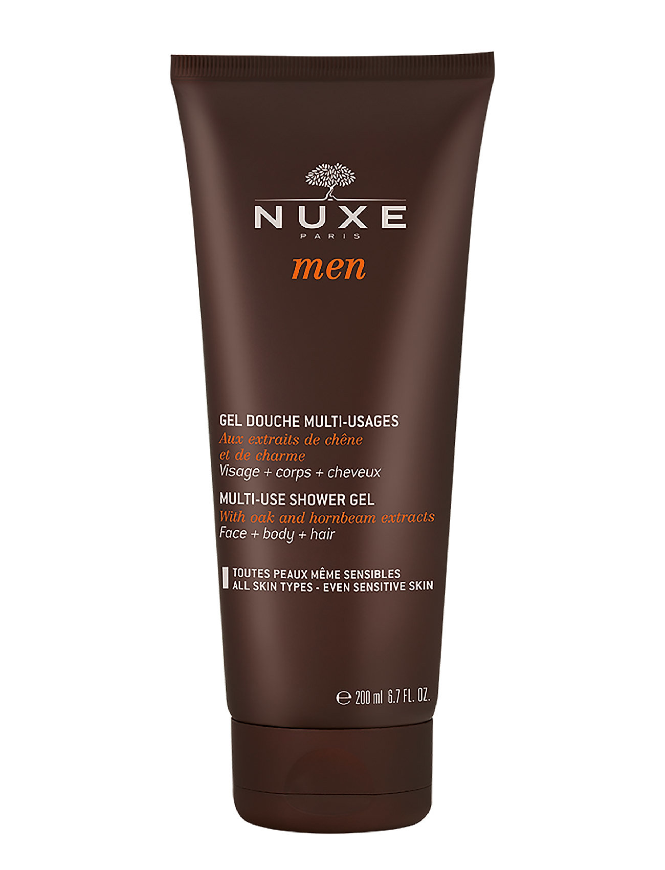 Nuxe men shower gel fra nuxe på boozt.com dk