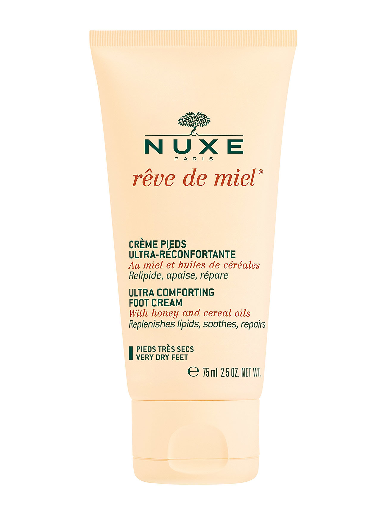 Creme ultra comfortable foot cream fra nuxe fra boozt.com dk