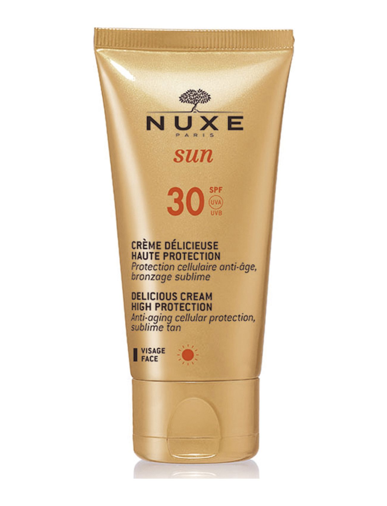 nuxe – Delicious cream for face spf30 på boozt.com dk