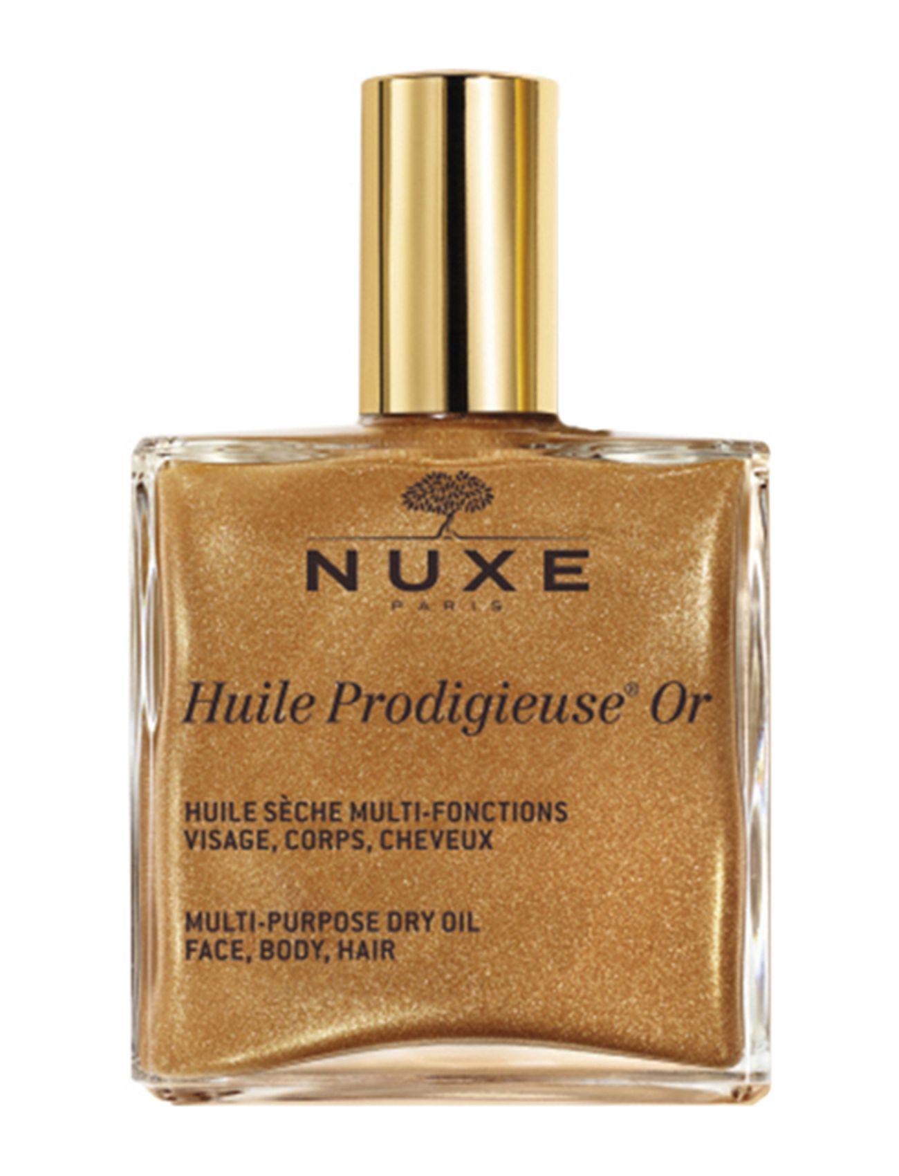 Huile prodigieuse gold dry oil 100 ml fra nuxe fra boozt.com dk