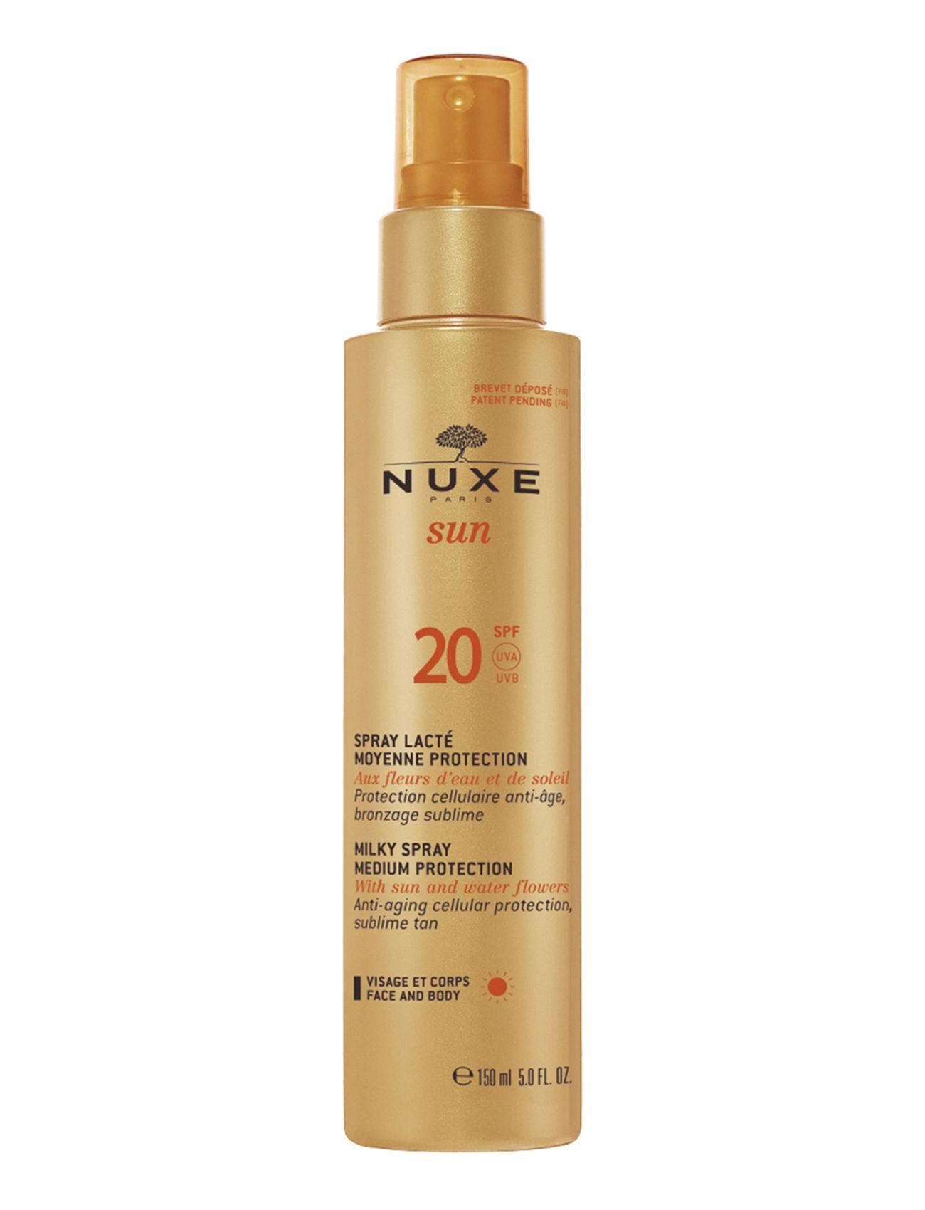 Milky spray face & body spf 20 fra nuxe på boozt.com dk