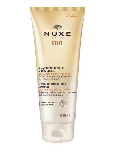 NUXE SUN AFTER-SUN HAIR & BODY SHAMPOO - CLEAR