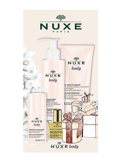 Nuxe Body Shower gel 200 ml, Body Lotion 200 ml & Deodorant - CLEAR