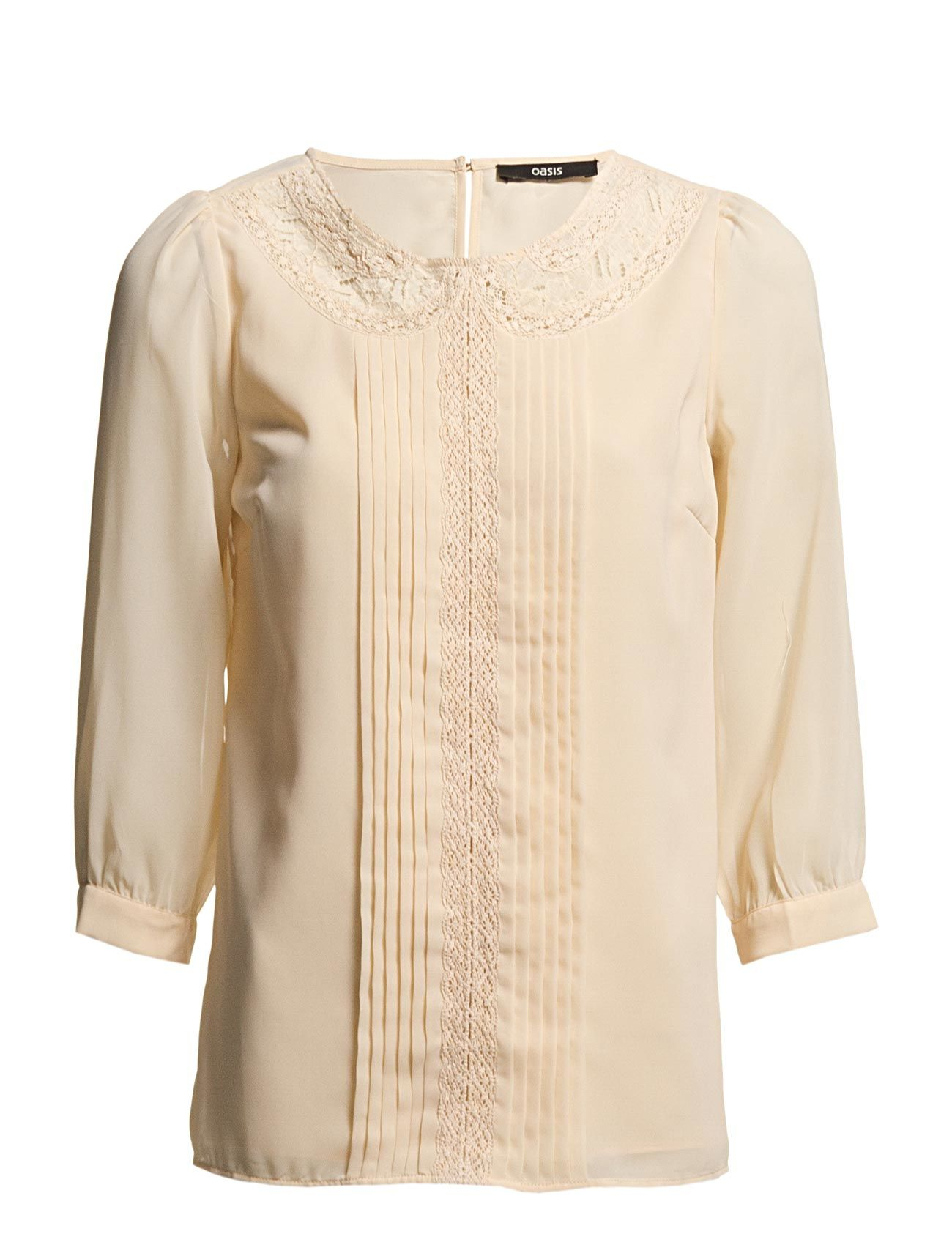 Oasis Lace Insert Ls Top
