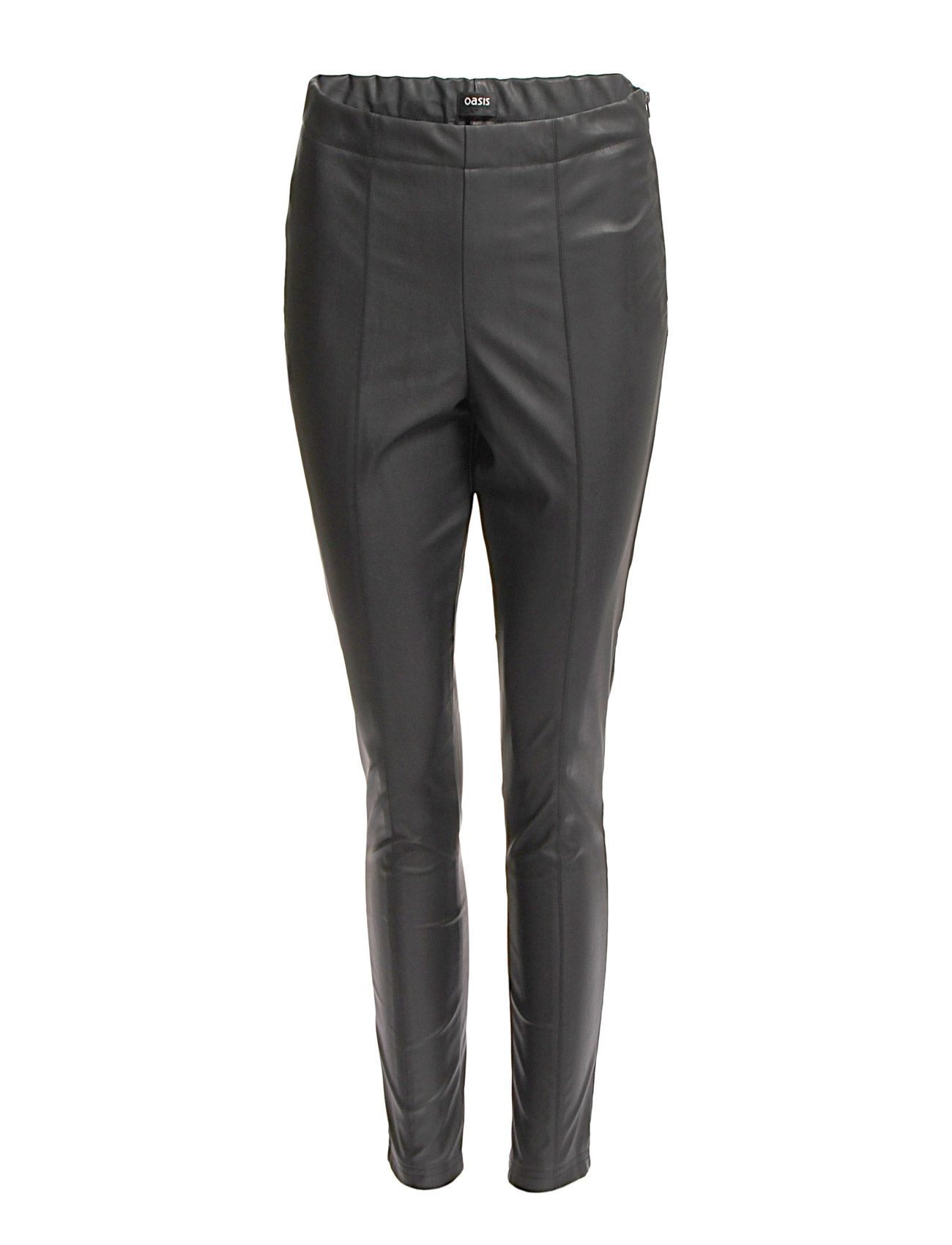 Oasis Faux Leather Trouser