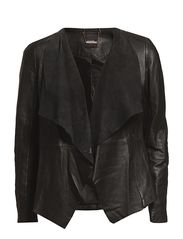 Oasis Oasis Waterfall Leather Jacket