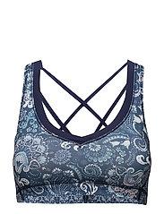 shakedown sport bra - DARK BLUE