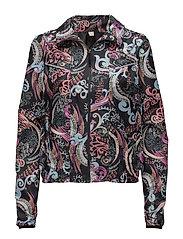 sweat it jacket - ALMOST BLACK