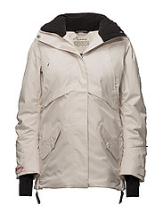 love-alanche jacket - LIGHT PORCELAIN