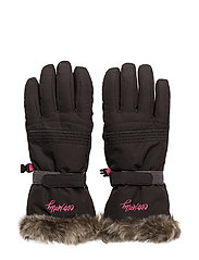 fire place glove - BLACK