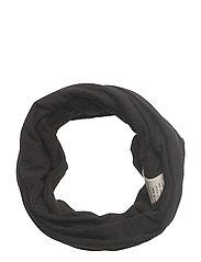 love base layer neck scarf - BLACK