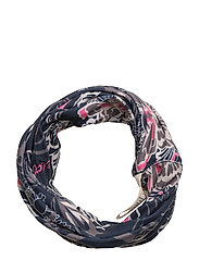 love base layer neck scarf - DARK BLUE