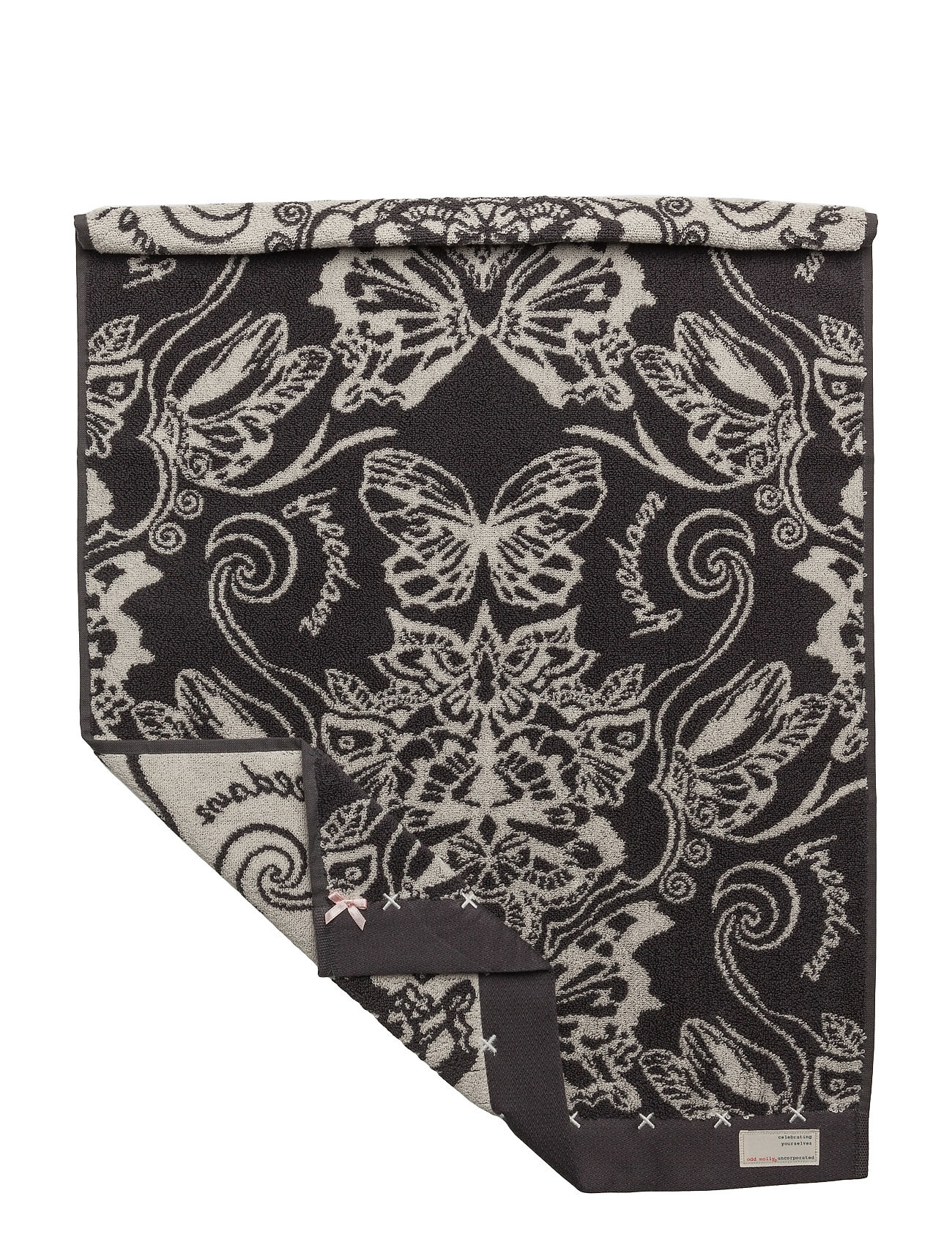 Daybreak butterfly guest towel fra odd molly home fra boozt.com dk