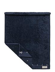 sunday morning bath towel - DARK BLUE