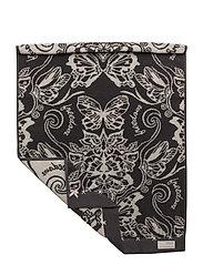 daybreak butterfly guest towel - ASPHALT